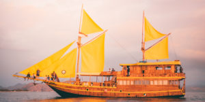 Open trip Sailing Komodo - Phinisi Boat 3D2N