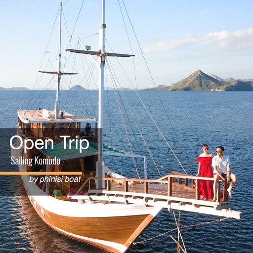 Open trip Sailing Komodo Phinisi 3d2n
