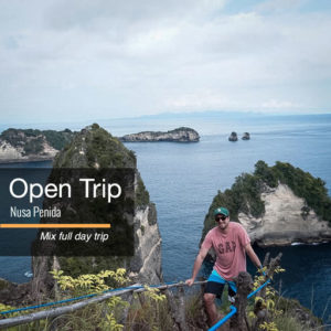 Open trip Nusa penida 1 hari