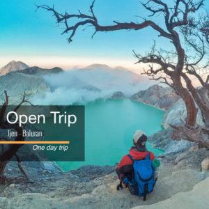 Open trip Kawah Ijen Taman Nasional Baluran