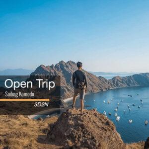Open trip Sailing Komodo 3 hari 2 malam