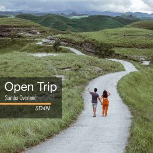 Open trip Overland Sumba 5 hari 4 malam