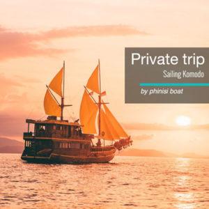 Sailing Komodo Phinisi