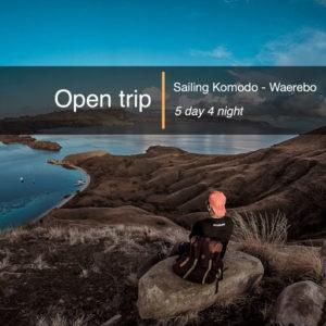 Open trip Sailing Komodo Waerebo 5 hari 4 malam