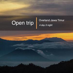 Open trip Overland jawa timur | jatim 4d3n